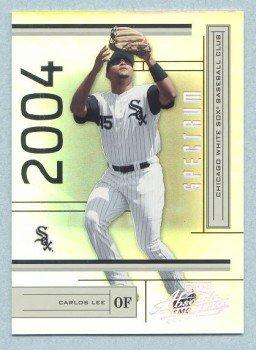 2004 Absolute Memorabilia Spectrum Silver # 53 CARLOS LEE #d 070 of 100