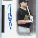 2004 Bowman Sterling First Year Card # BS-MR MIKE ROUSE Autograph RC A's Auto Rookie