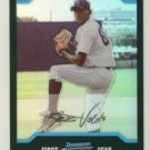2004 Bowman Chrome Refractors # 243 JOSE VALDEZ RC Yankees Rookie