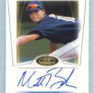2004 Fleer Hot Prospects Draft # 71 MATT BUSH Autograph RC #d 187 of 299 Auto Rookie