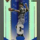 2004 Leaf Certified Materials Mirror Fabric Blue Position # 84 Jason Kendall #d 004 of 100 A's