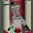 2004 Leaf Certified Materials Mirror Red # 91 Jeff Bagwell GU Jersey #d 150 of 150