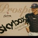 2004 Skybox Autographics Prospect # 99 Hector Gimenez RC #d 0337 of 1500 Rookie