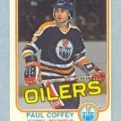 1981-82 OPC # 111 -- Paul Coffey RC