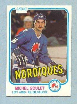 1981-82 OPC # 275 -- Michael Goulet