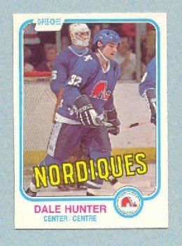 1981-82 OPC # 277 -- Dale Hunter RC