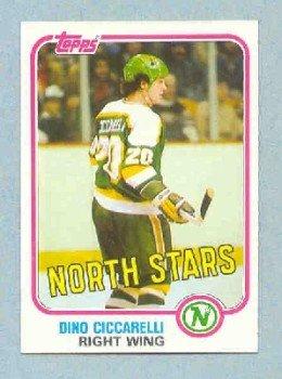 1981-82 Topps # W105 -- Dino Ciccarelli RC