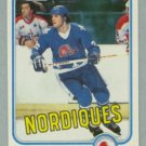 1981-82 Topps # 39 Peter Stastny RC Rookie