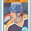 1982-83 OPC # 111 -- Jari Kurri