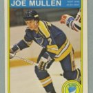 1982-83 OPC # 307 Joe Mullen RC Rookie Blues