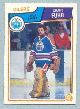 1983-84 OPC # 27 -- Grant Fuhr