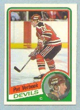 1984-85 OPC # 121 -- Pat Verbeek RC