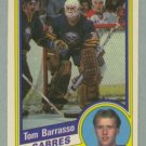 1984-85 OPC # 18 Tom Barrasso RC Rookie