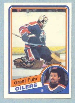 1984-85 OPC # 241 -- Grant Fuhr
