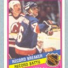 1984-85 OPC # 392 -- Pat LaFontaine Record Breaker