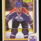 1986-87 OPC # 186 -- Mark Messier, Oilers