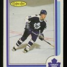 1986-87 OPC # 245 Steve Thomas RC, Rookie, Maple Leafs