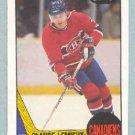 1987-88 OPC # 227 -- Claude Lemieux RC
