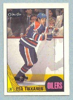 1987-88 OPC # 7 -- Esa Tikkanen RC