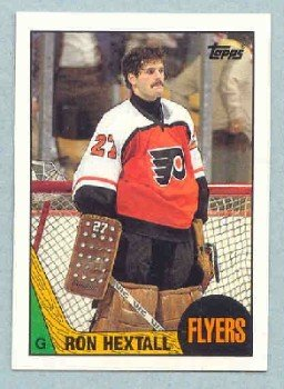 1987-88 Topps # 169 -- Ron Hextall RC