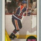 1987-88 Topps # 7 Esa Tikkanen RC Rookie