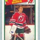 1988-89 OPC # 94 -- Sean Burke RC