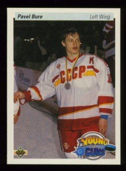 1990-91 UD # 526 -- Pavel Bure Rookie Card RC Canucks