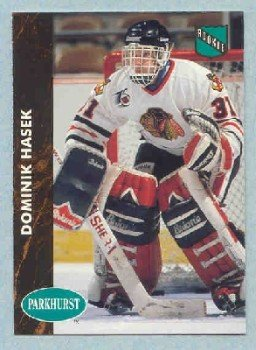 1991-92 Parkhurst # 263 -- Dominik Hasek Rookie Card RC