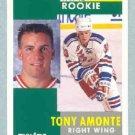1991-92 Pinnacle # 301 -- Tony Amonte Rookie Card RC