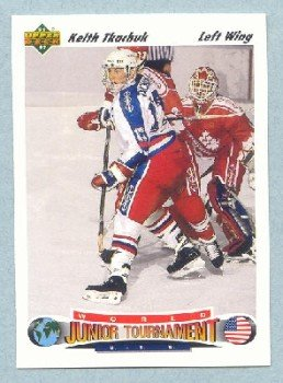1991-92 UD # 698 -- Keith Tkachuk Rookie Card RC