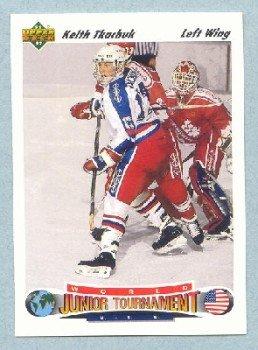 1991-92 UD # 698 -- Keith Tkachuk Rookie Card RC