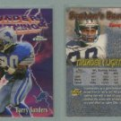 1997 Topps Chrome Season's Best Thunder & Lightning # 6 BARRY SANDERS -- MINT