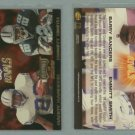 1998 Playoff Momentum NFL Rivals # 3 BARRY SANDERS and EMMITT SMITH