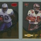 1999 Leaf Certified Skills # CS-11 BARRY SANDERS and WARRICK DUNN -- MINT