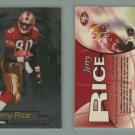 1998 Fleer Brilliants # 60 JERRY RICE -- MINT