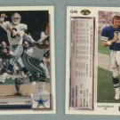 1992 Upper Deck Gold # G40 TROY AIKMAN -- MINT