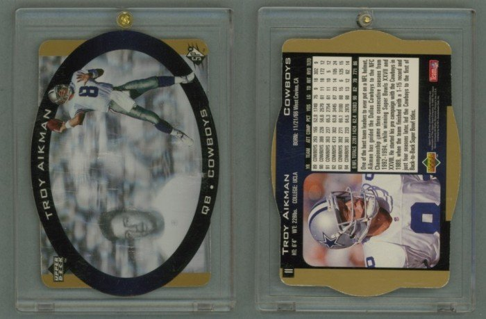 1996 SPx Gold # 11 TROY AIKMAN -- MINT