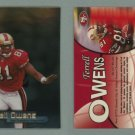 1998 Fleer Brilliants # 95 TERRELL OWENS -- MINT