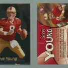 1998 Fleer Brilliants # 50 STEVE YOUNG -- MINT