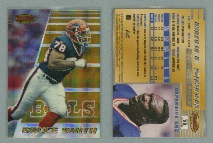 1996 Bowman's Best Atomic Refractors # 58 BRUCE SMITH -- MINT