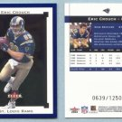 2002 Fleer Premium # 170 ERIC CROUCH RC #d 0639 of 1250 Rookie -- MINT