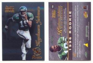1996 Select Certified # 105 KEYSHAWN JOHNSON RC Rookie -- MINT