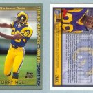 1999 Topps # 343 TORRY HOLT RC Rams Rookie