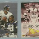 1998 Playoff Prestige Alma Maters # 2 IRVIN, TESTAVERDE, MARYLAND -- MINT