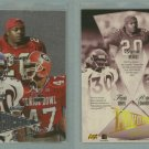 1998 Playoff Prestige Alma Maters # 18 DAVIS, HEARST, EDWARDS -- MINT