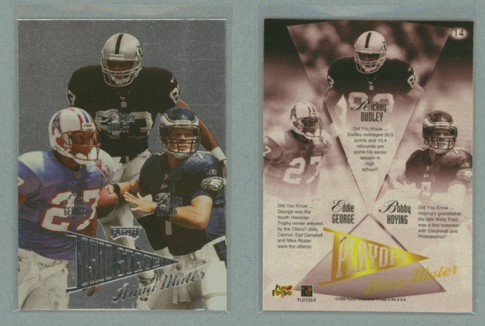 1998 Playoff Prestige Alma Maters # 14 GEORGE, HOYING, DUDLEY -- MINT
