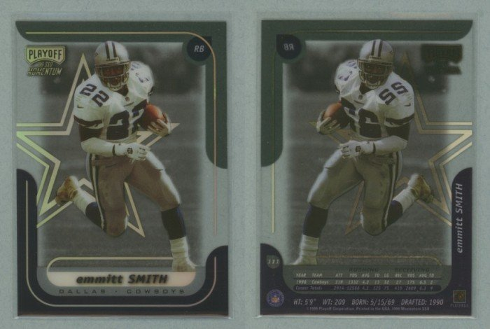 1999 Playoff Momentum SSD # 111 EMMITT SMITH -- MINT