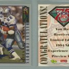 1994 Images NFL Experience Sneak Preview # NNO EMMITT SMITH