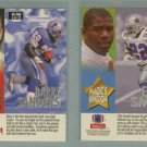 1993 SkyBox Impact Kelly - Magic # 5 BARRY SANDERS and EMMITT SMITH -- MINT