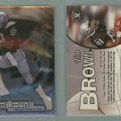 1998 Fleer Brilliants # 72 TIM BROWN -- MINT